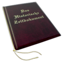Zeitungsgeschenkmappe